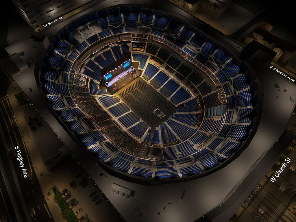 The Amway Center Concert Virtual Venue Tm
